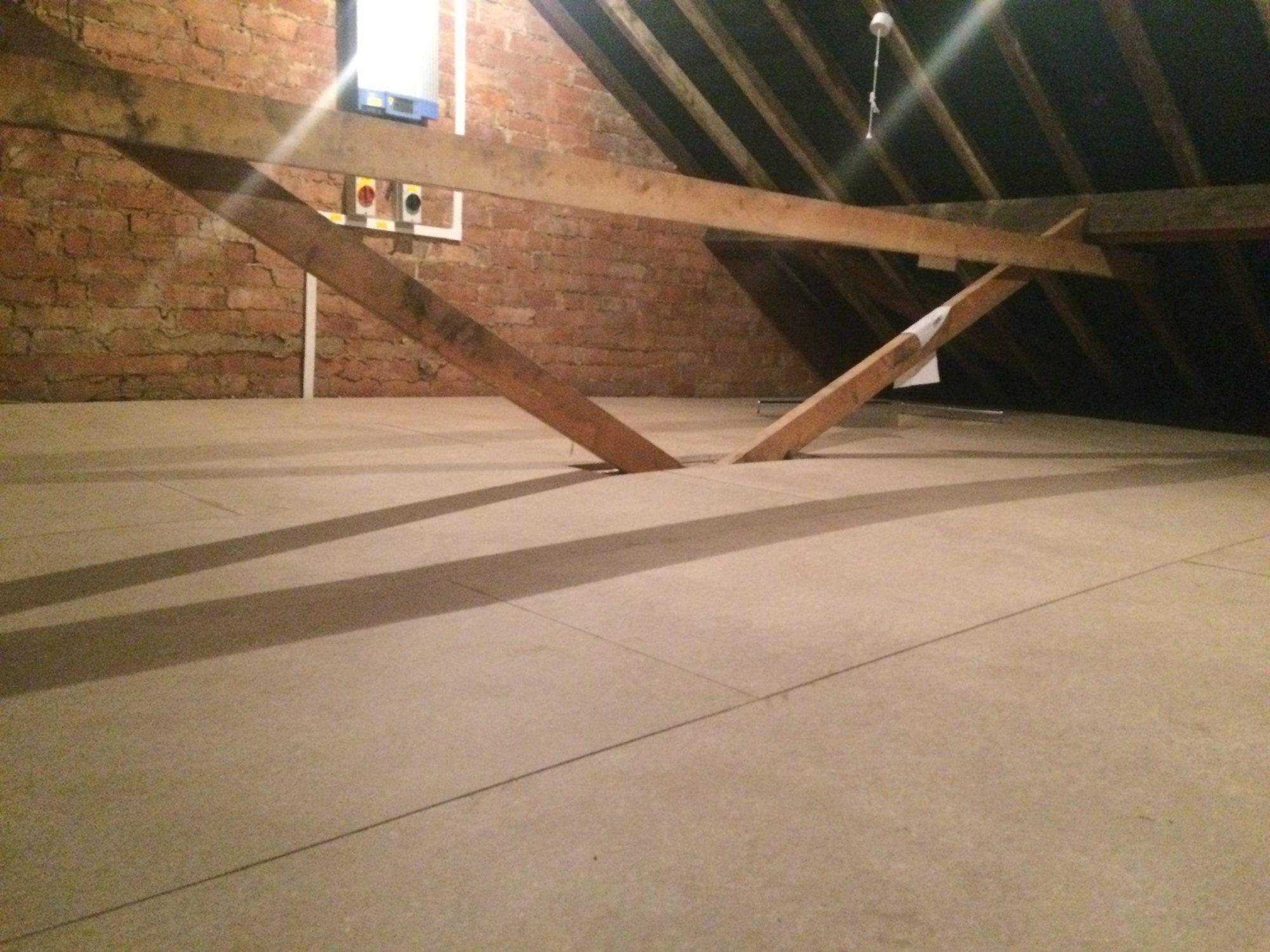 loft renovation insulation tdj construction. Black Bedroom Furniture Sets. Home Design Ideas