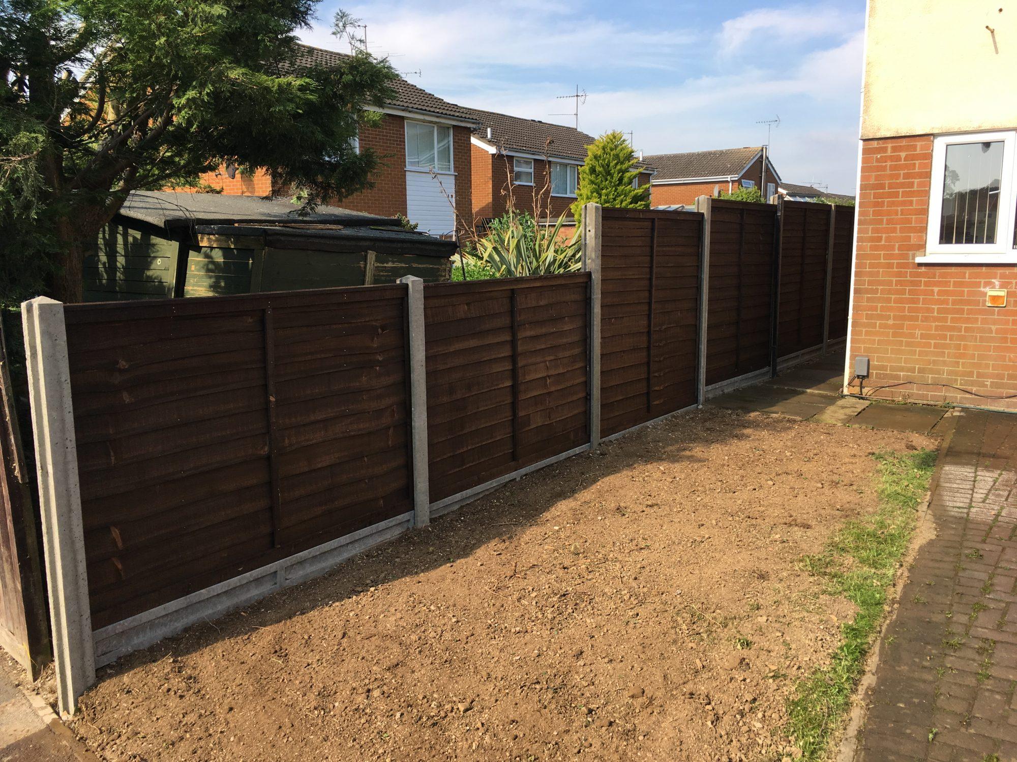 fencing in kettering | tdj construction